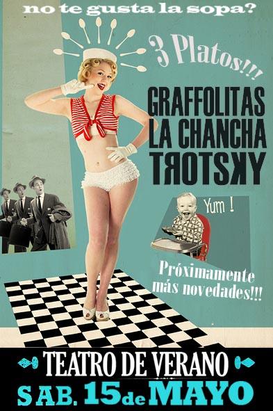 Graffolitas, La Chancha y Trotsky Vengarán